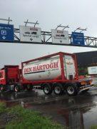 Den Hartough, Liquid Logistics Carrier entering the Port