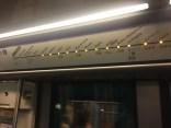 Inside the Paris metro