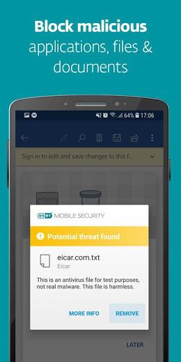 ESET Mobile Security Antivirus PRO v5.1.29.0 APK
