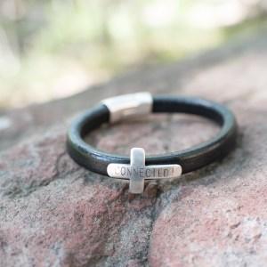 Men's Cross CONNECTED! Bracelet
