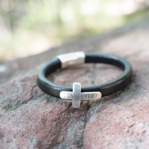 Men's Cross CONNECTED! Bracelet