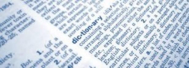 Woordenboek technologie
