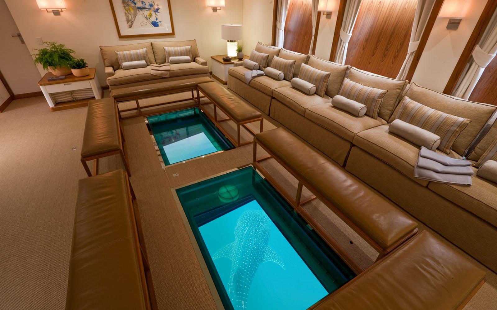 YACHT SURI World Class Yacht Interior Superbly Finished