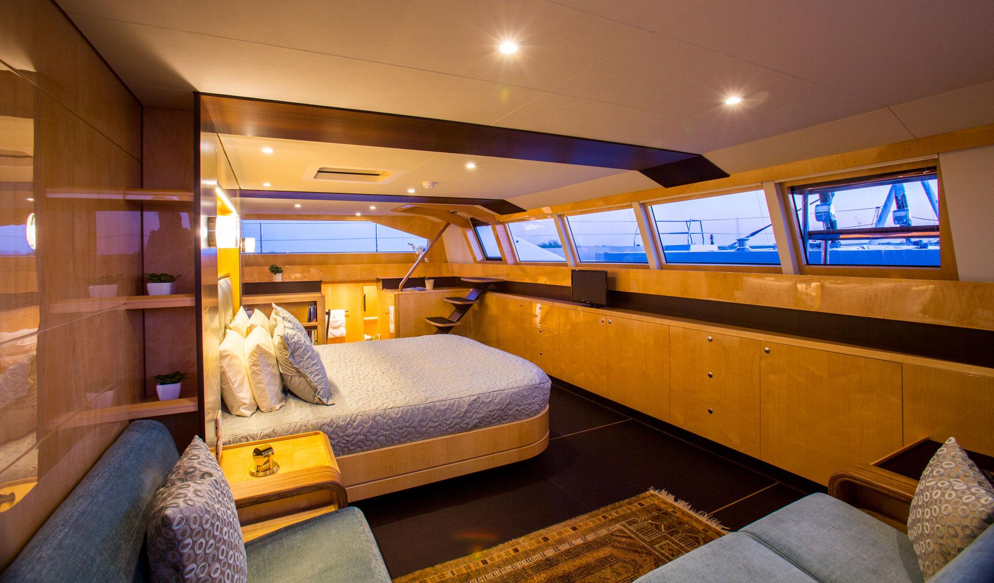 Yacht WindQuest Catamaran Luxury Eastern Amp Western