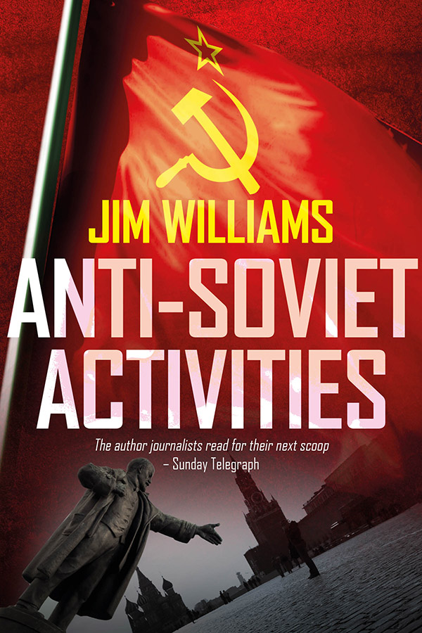 Jim Williams Books - Anti-Soviet Activities Cover