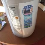 加湿器でお手入れ簡単!楽ちんの象印が最高に使いやすくておすすめ!