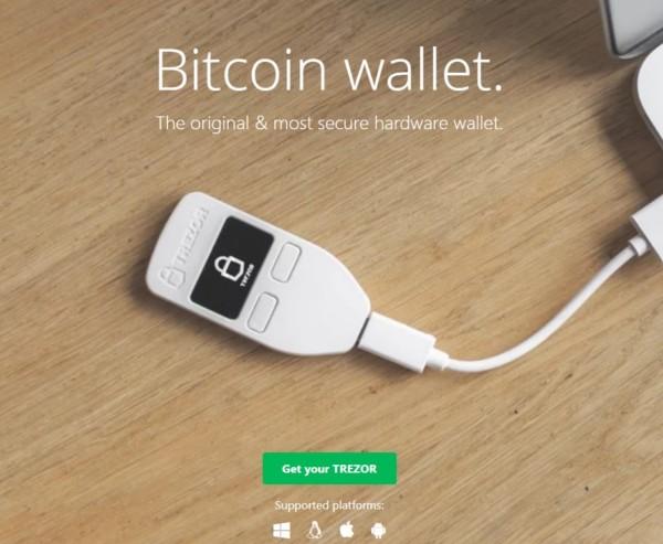 仮想通貨 ハードウェアウォレット TREZOR