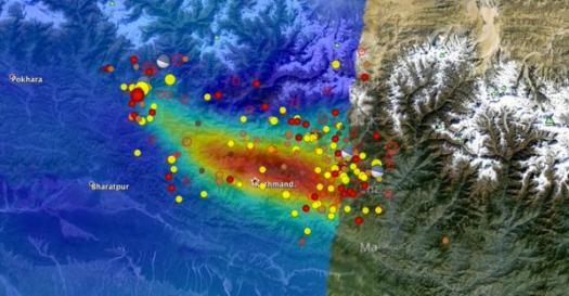 KathmanduUnwrappedInSAR
