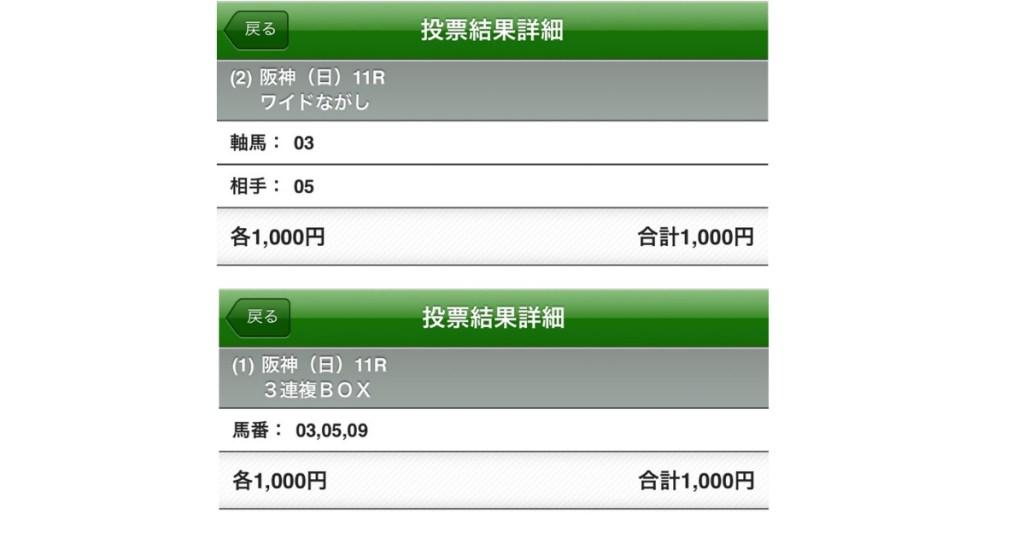 阪急杯買い目栗山