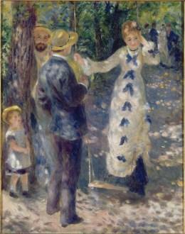 09.Pierre-Auguste Renoir_La balançoire