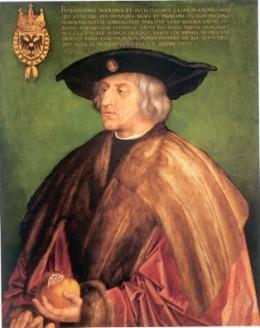 09_Duerer_Kaiser Maximilian I. (Malerei auf Lindenholz)_sm