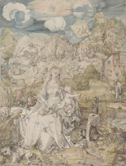 17_Duerer_Madonna with a Multitude of Animals_sm