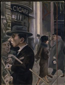 Georg Grosz_Strassenszene_Kurfuerstendamm_c Museo Thyssen Bornemisza Madrid_sm