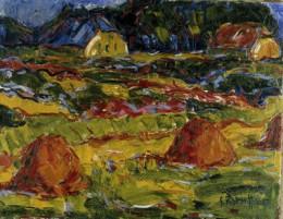 Karl Schmidt-Rottluff_Herbstlandschaft in Oldenburg_1907_c Museo Thyssen Bornemisza_sm