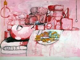 Schirn_Presse_Guston_Painting_Smoking_Eating_1973_400