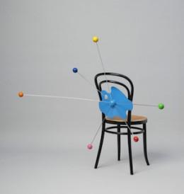 """Alessandro Mendini, Chair """"Redesign Thonet"""", Studio Alchimia, 1979. Die Neue Sammlung Photo: Die Neue Sammlung – The International Design Museum Munich (A. Laurenzo)"""