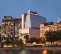 The New Whitney. View from the Hudson River. Photographed by Karin Jobst 2014.