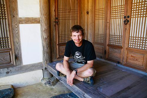 Marc at Namdoseokseong Fortress