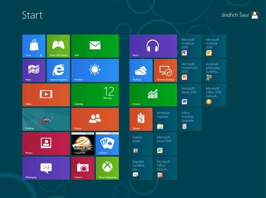 Windows 8  – Microsoft vtipkuje