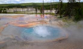 geyser after