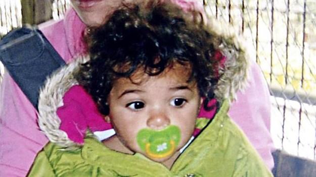 ด.ญ. Tanila Warrick-Deves วัย 2 ขวบ