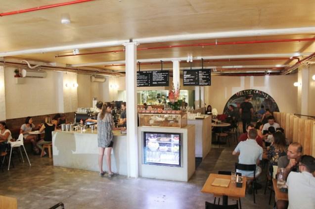 ร้านอาหาร Three Williams Cafe ในย่านเรดเฟิร์น
