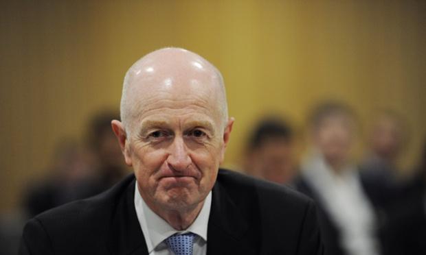 นาย Glenn Stevens ผู้ว่าการธนาคารกลางออสเตรเลีย