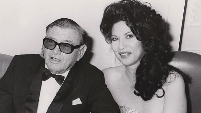 Lang Hancock และ Rose Hancock ในทศวรรษที่ 1980s