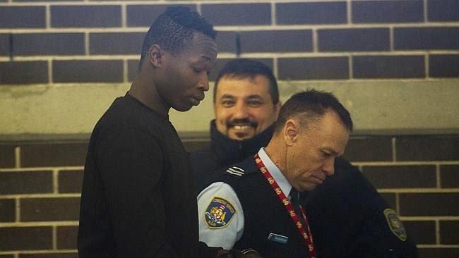 นาย Hassan Kugor หนึ่งในสองฝาแฝดผู้ต้องหาคดีข่มขืนที่ได้รับการประกันตัว