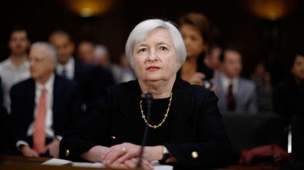 นาง Janet Yellen ประธานธนาคารกลางสหรัฐ
