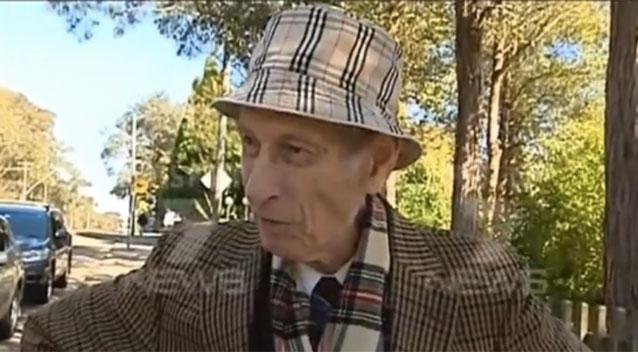 นพ. Victor Twartz วัย 91 ปี ภาพจากข่าวทีวี 7News
