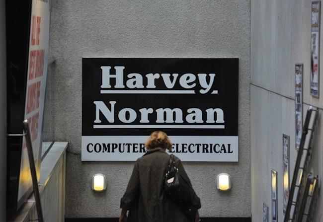 HARVEY NORMAN STOCK