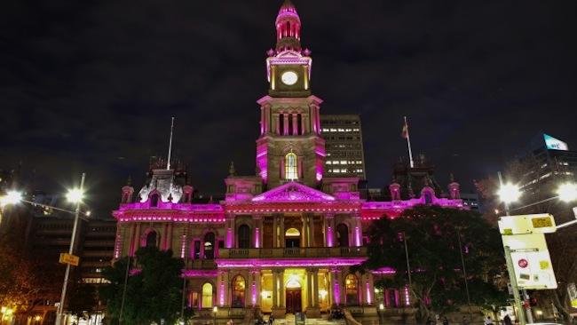 ซิดนีย์ Town Hall : ภาพจากนสพ. the SMH