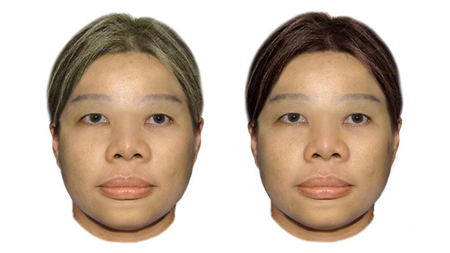 ใบหน้าของหญิงสาวชาวเอเชียที่ถูกฆ่ายัดใส่กระเป๋า : ภาพจากตำรวจรัฐเวสเทิร์นออสเตรเลีย