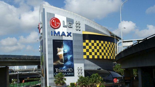โรงภาพยนตร์ IMAX Sydney ที่ Darling Harbour หลังจากวันที่ 25 ก.ย. 2016 จะกลายเป็นความทรงจำในอดีต : ภาพจากนสพ. SMH