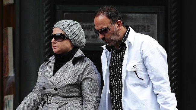 นาง Amirah Droudis และนาย Man Haron Monis : ภาพจากนสพ. The Telegraph