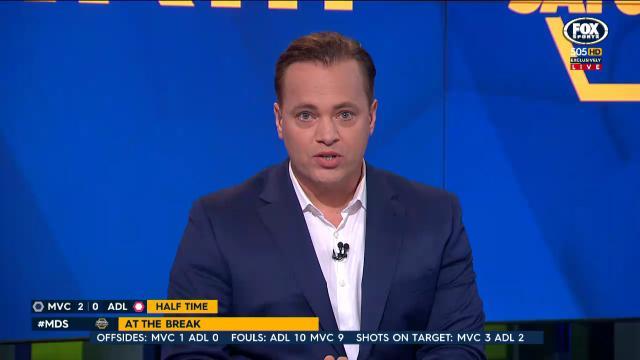 นาย Mark Bosnich หนึ่งในทีมวิจารณ์ฟุตบอลของทีวี Fox Sports : ภาพจาก Fox Sports