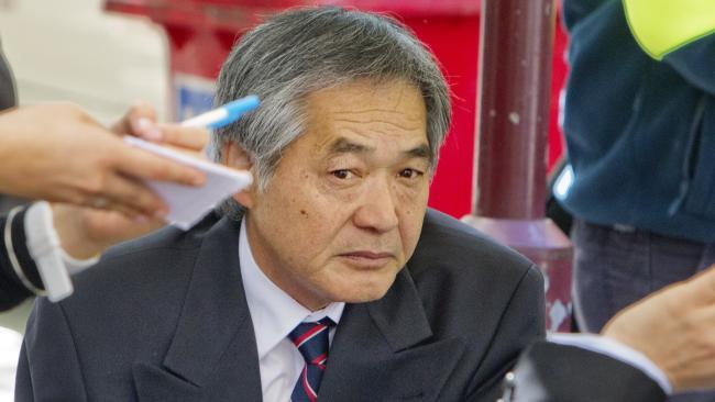 นาย Masaaki Imaeda : ภาพชั่วคราวจากสำนักข่าว News Corp