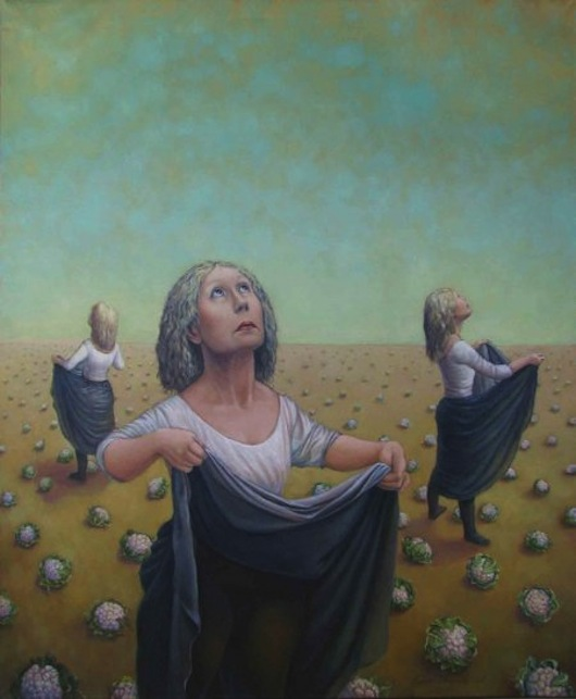 """Let the sky rain potatoes"" โดย Ritva Voutila"