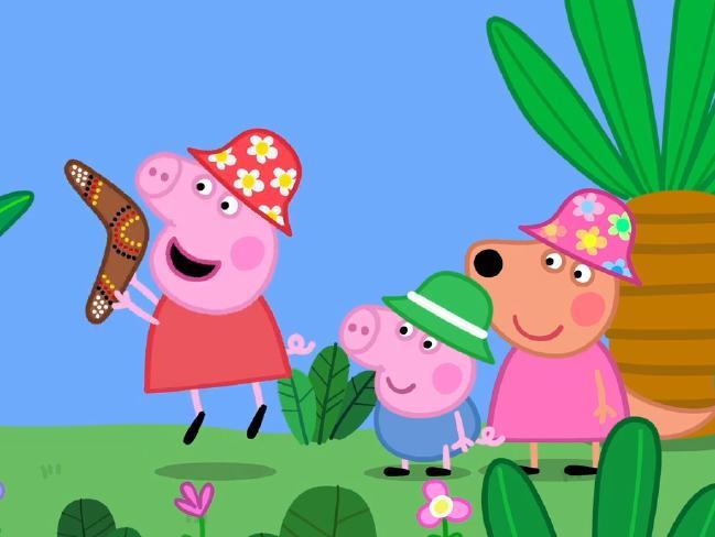 การ์ตูน Peppa Pig ภาคภาษาจีนที่จะออกอากาศทางทีวี ABC : ภาพจาก ABC