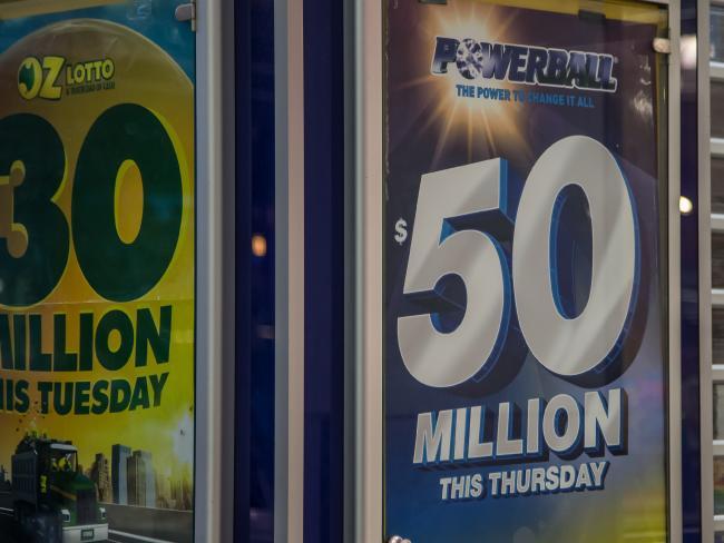 แจ็คพอต Powerball 50 ล้านเหรียญ : ภาพจาก News.com.au