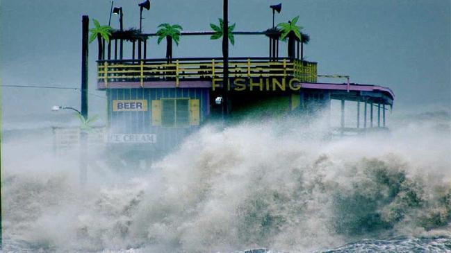 ความปั่นป่วนของทะเลจากผลของคลื่นความร้อน : ภาพจากสำนักข่าว News Crop