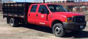 Ford F550 SUPER DUTY (2001) : Commercial Pickups