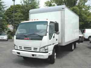 GMC W4500 (ISUZU NPRHD) 16 FT BOX TK (2007) : Van  Box