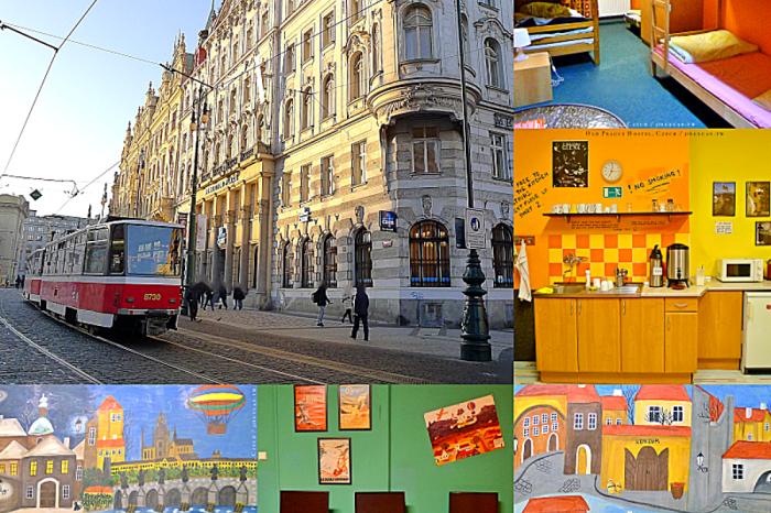 捷克自助、布拉格住宿X美食X交通|Old Prague Hostel,近布拉格老城區適合預算有限背包客旅館.吃完中菜從布拉格搭夜車到布達佩斯!