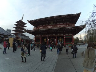 Hozomon Gate and the five-storied Pagoda