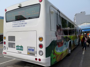 Bus 6669 to Shuishe Visitors Center