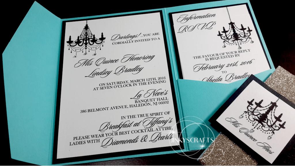 Elegant Pocket Wedding Invitations