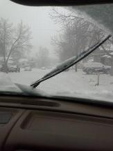 the blizzard from inside freddys jeep feb 24 2013