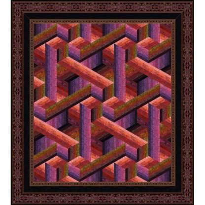 Catwalk Quilt - Queen/Sorbet